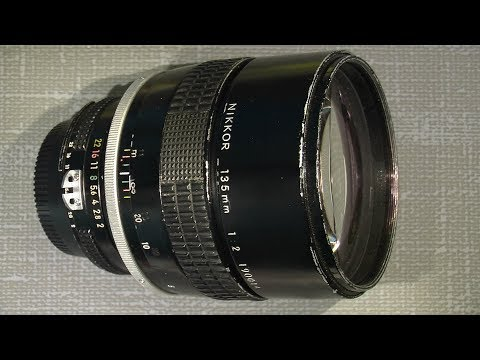 Assemble and lube the focus system in Ai - NIKKOR 135mm 1:2___PART 2