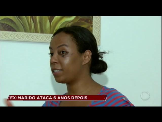Homem ataca a ex-mulher 6 anos após o fim da relação