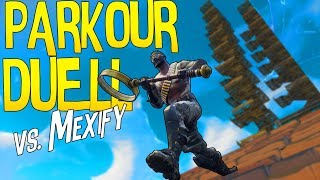 *NEUE SERIE* SPIELWIESE PARKOUR DUELL vs. Mexify