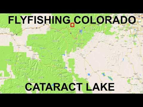Fishing Near Heeney, CO.  Cataract Lake