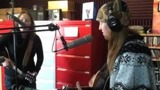 Miller Sisters Recording at KCHU