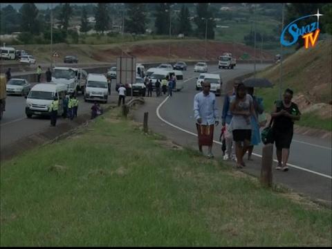Pandemonium broke loose at Mvutjini area in Ezulwini