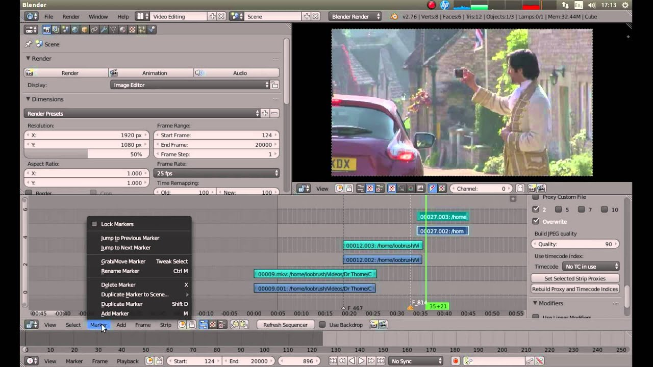 Blender Basic Blender Beginners Tutorial Basic Video Editing Using The Video Editor