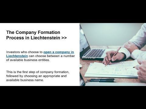 Open a Company in Liechtenstein