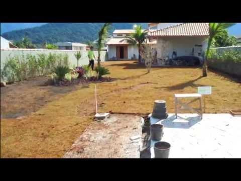 Drenagem e implanta o de um pequeno jardim bertioga sp - Jardines pequenos fotos ...
