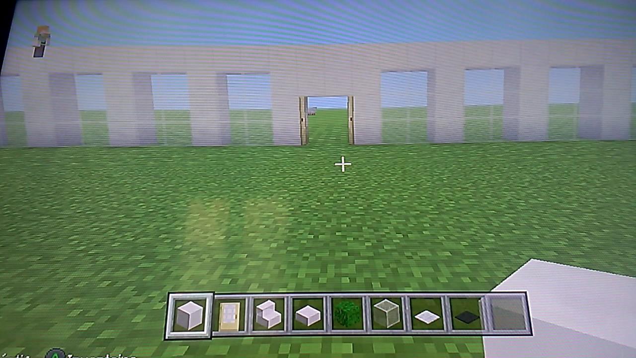 Comment faire une maison moderne dans minecraft - YouTube