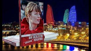 Супруга Михаила Саакашвили прибыла в Баку и презентовала свою книгу