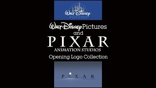 Walt Disney Pictures and Pixar Opening Logo Collection [1995-2017]