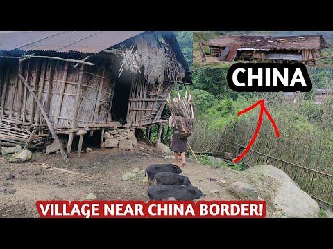 My Village And House Near China Border || Kesse Bagang Village Near China Border, Arunachal Pradesh