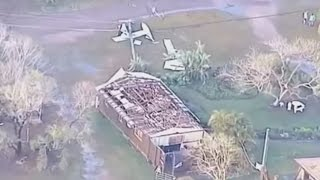 Aerial footage shows true extent of Australian storm damage