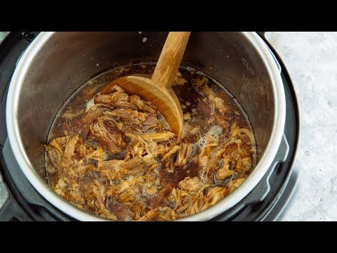 How to Make INSTANT POT ASIAN PULLED PORK (pork shoulder) (Recipe) – プルドポークの作り方 (レシピ)