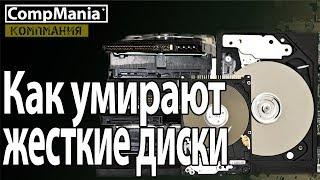 Как умирают жесткие диски и как выбрать новый HDD