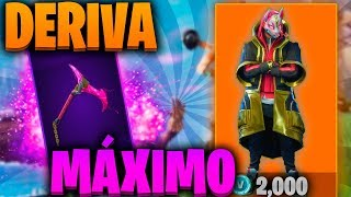 LEVEL UP THE LEGENDARY SKIN *DERIVA* TO MAXIMUM! Fortnite! - Ruby YT