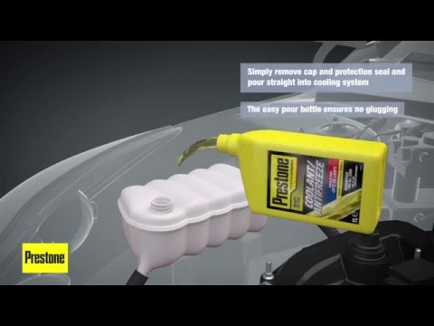 Prestone Coolant Antifreeze - How It Works