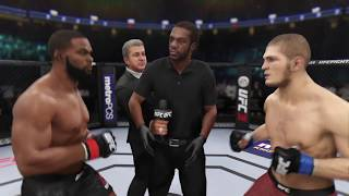 Тайрон Вудли против Хабиба Нурмагомедова UFC 3
