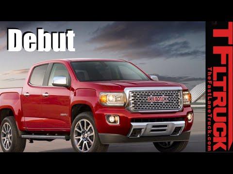 2017 Gmc Canyon Denali Now Even More Tech Chrome Leather Ger Wheels You