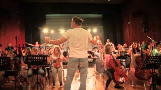 SUPERHEARO Orchestra - Making of  Good Life (OneRepublic cover)