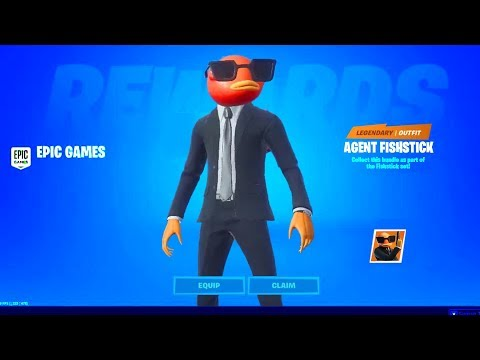 How To Get AGENT FISHSTICK BUNDLE (FREE VBUCKS) Fortnite NEW Fish Stick Style / Skin RELEASE DATE
