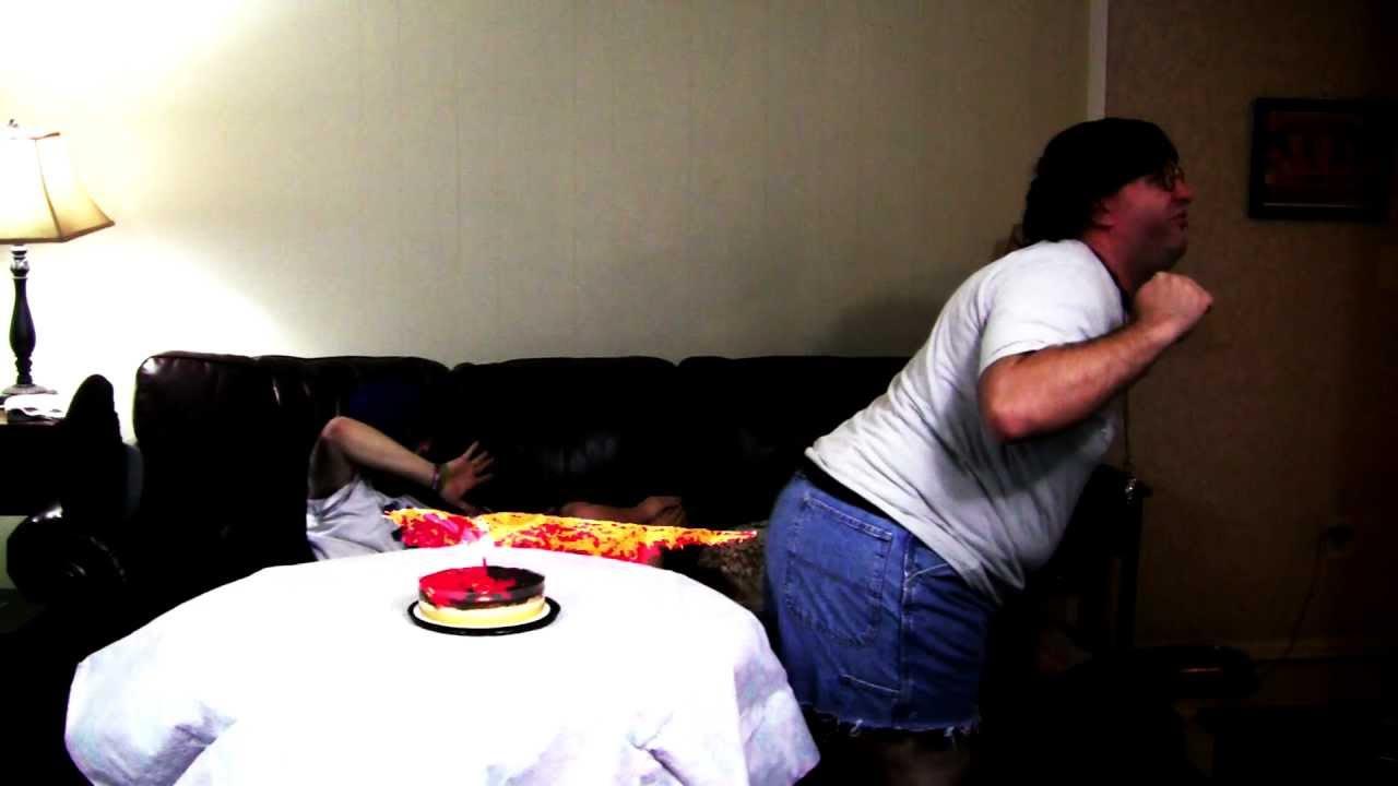 Fart Vs Birthday Cake Candle Youtube