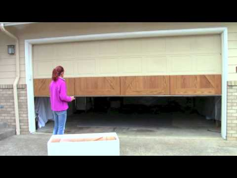 How to install your GarageSkins Realwood Overlay System on your existing door.