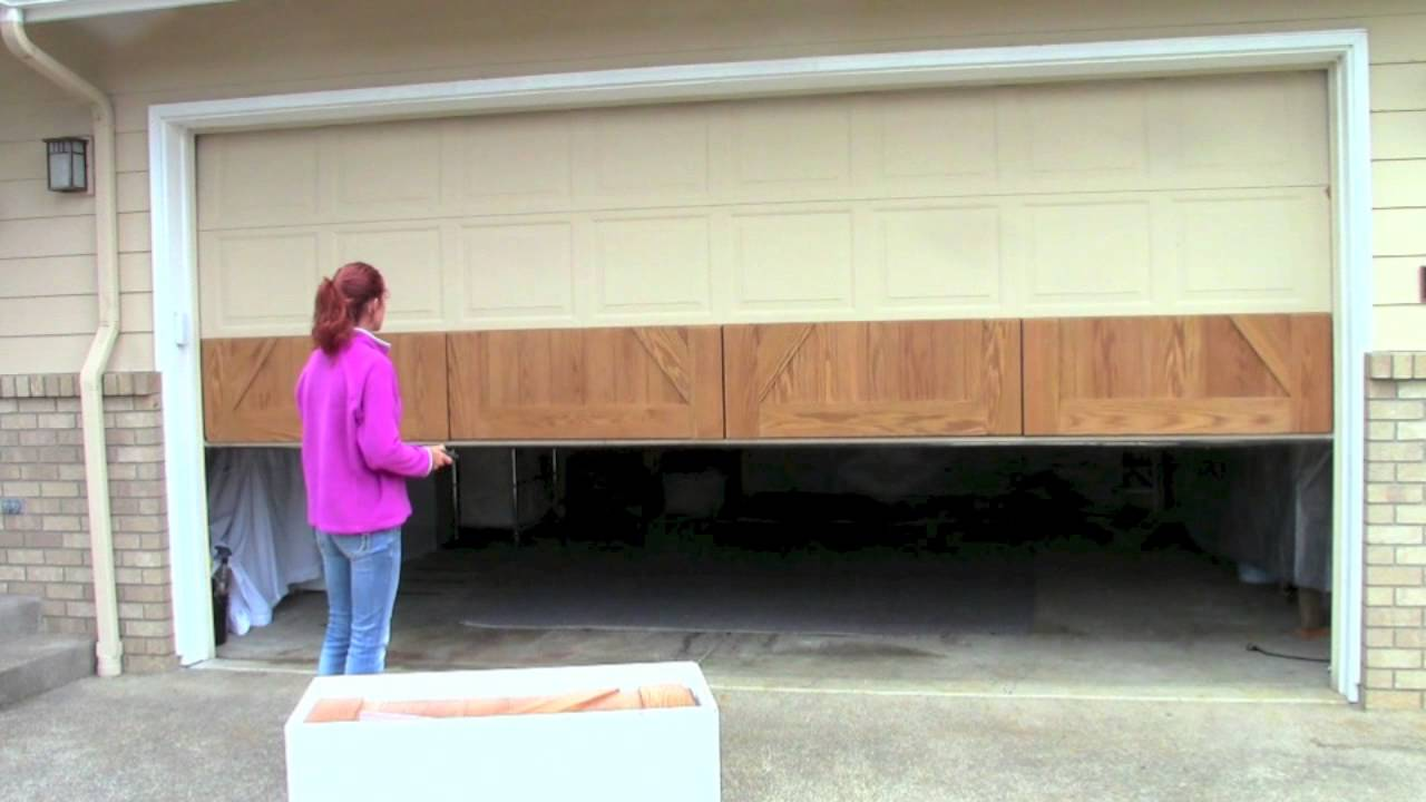 How to install your GarageSkins Realwood Overlay System on your existing door. - YouTube & How to install your GarageSkins Realwood Overlay System on your ...