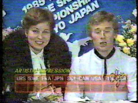 1985 ISU World Figure Skating Championships - Men and Pairs