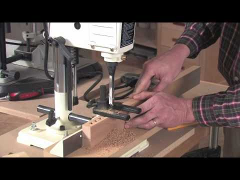 How to Set Up and Use a Mortising Machine | Hollow Chisel Mortiser