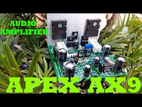 DIY Audio Amplifier APEX AX9