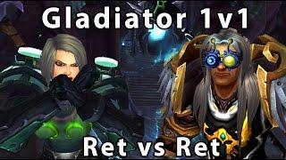 Ret vs Ret Legion 1v1 Duels ( Savix Vs Oxyraid)