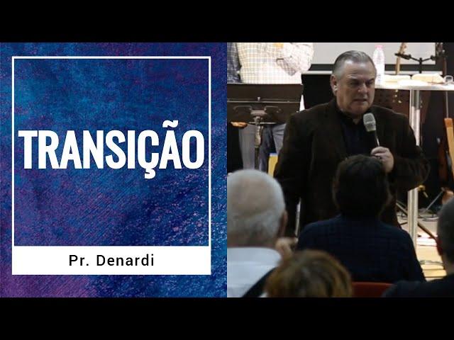 Pr. Denardi - Ministração em Israel - Ministério Intimo do Pai