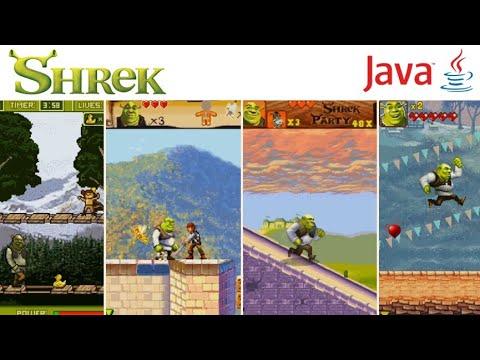 All Shrek Games In Java Mobile