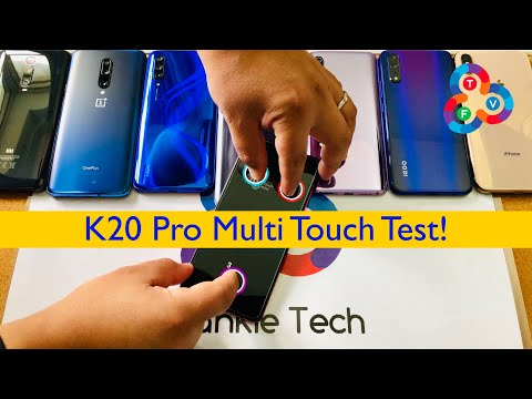 Redmi K20 Pro Epic Multi Touch Test Vs All My AMOLED Phones!