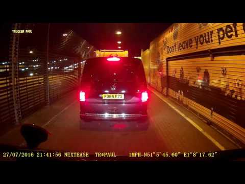 76 - CHANNEL TUNNEL - Folkestone to Calais (Van Holiday Trip) 720 HD