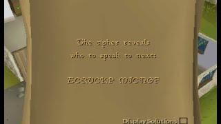 ECRUCKP MJCNGF cipher . Clue help Runescape 07