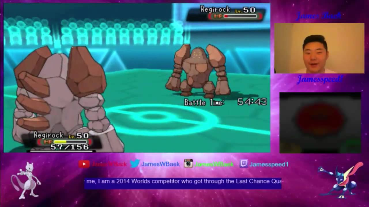 how to catch regirock omega ruby