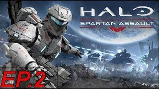 Halo: Spartan Assault - Gameplay ITA - #02 Bombardamento Sui Covenant!