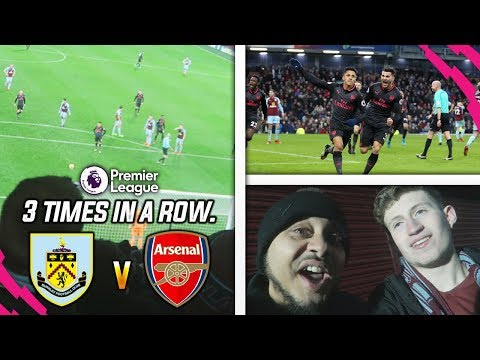 IT'S BEYOND A JOKE, LATE MINUTE PENALTY AGAIN!! (FT. TROOPZ) - BURNLEY 0-1 ARSENAL HOME VLOG