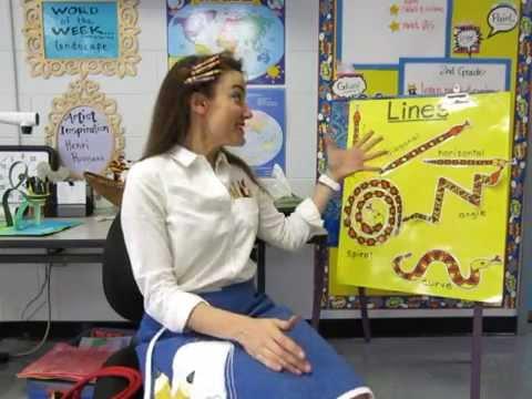 Teaching Art: Line