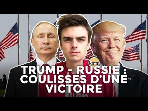 TRUMP, RUSSIE : LES COULISSES D'UNE VICTOIRE À LA PRÉSIDENTIELLE