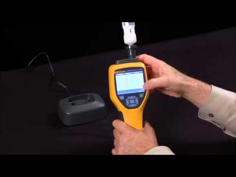 How To Use The Fluke 985 Airborne Particle Counter