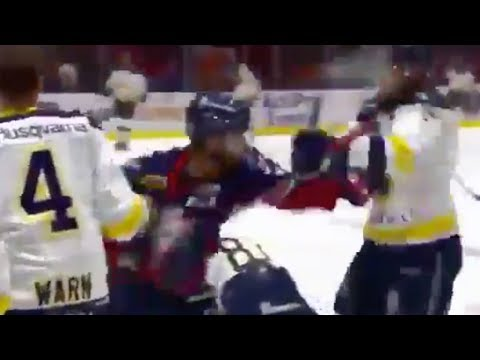 See the CRAZIEST Hockey Warm Ups You Will EVER See!
