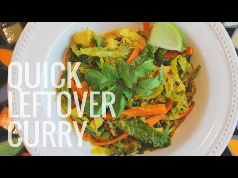 Quick And Easy  Leftover  Chicken Curry