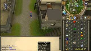 How to Play Runescape: Part 3: In-Game Buttons and The World Map