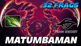 MATUMBAMAN Pudge 32 Frags Super Fights - Dota 2 Pro Gameplay