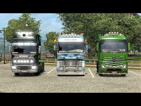 ★Live stream ★Euro Truck Simulator 2 Multiplayer