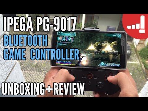 Main Game HP Pake Joystick??! Bisa! Unboxing + Review IPEGA PG-9017 Bluetooth Game Controller