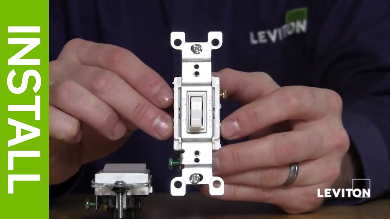Leviton 3 Way Toggle Switch Wiring Diagram : Leviton presents what is a way switch youtube