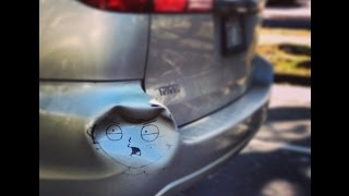 Photo Collection The funniest car repairs People makes strange things with their cars. Part 2