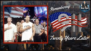 🔵THE DON TONY SHOW 9/11/21: REMEMBERING 9/11/01 + WWE / PRO WRESTLING TWENTY YEARS LATER