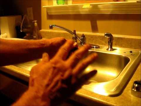 Best video for replacing cartridge (1225) For Moen Single handle kitchen faucet.